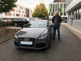 Audi TT RS importée par Gaillard Auto
