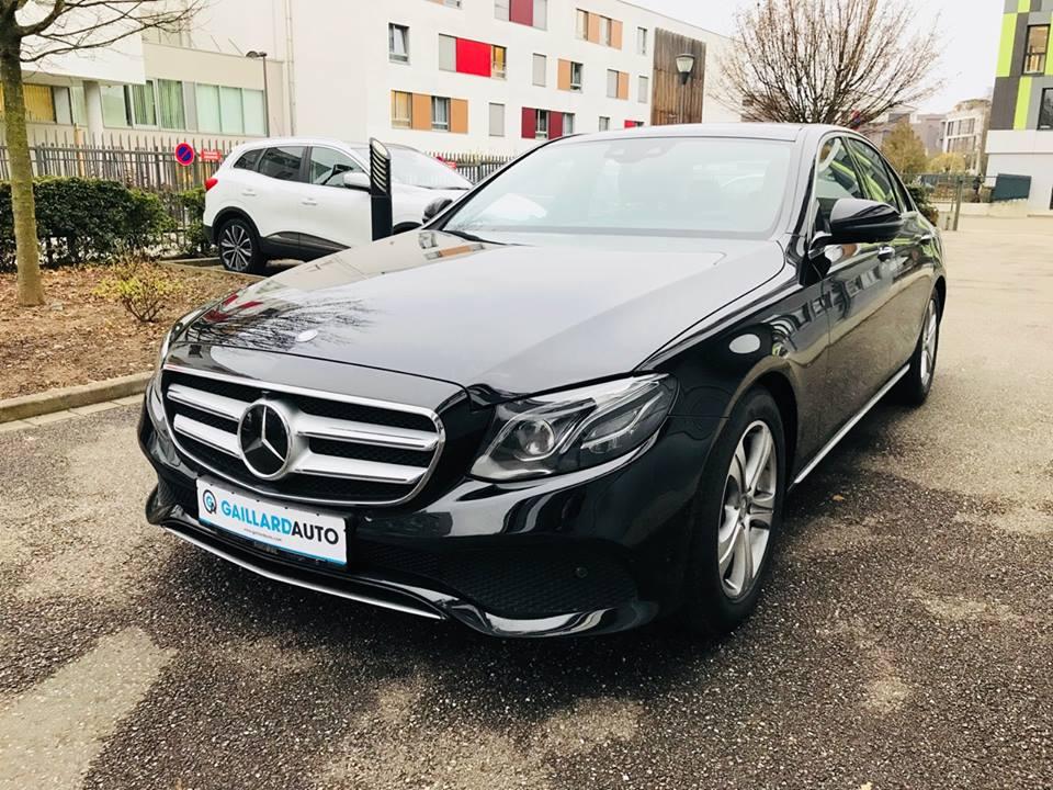 Mercedes Classe E occasion Gaillard Auto