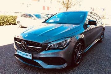 Une Mercedes CLA Shooting Brake importé d'Allemagne par le mandataire Gaillard Auto