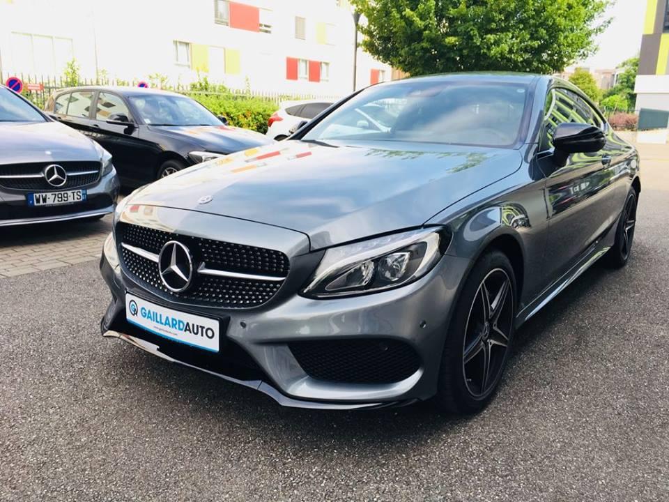 Mercedes classe C coupé occasion importer Allemagne