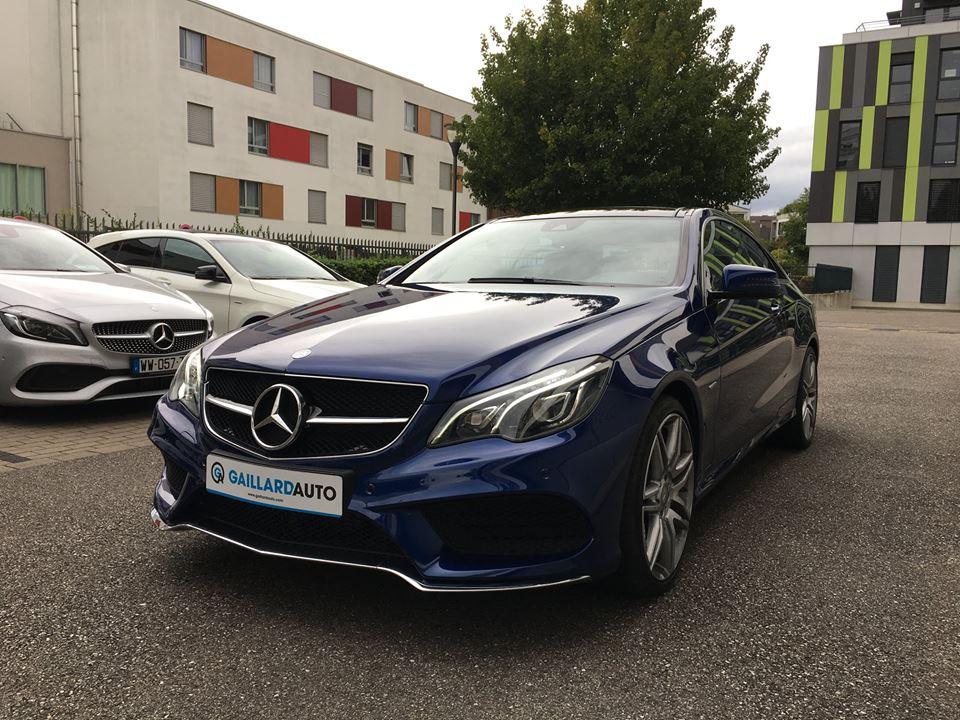 Mercedes Classe E Coupé occasion Allemagne - Gaillard Auto