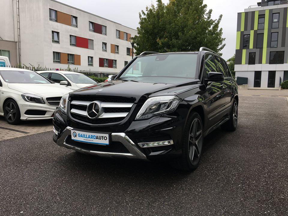 Mercedes GLK occasion Gaillard Auto
