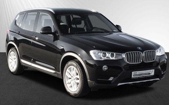 BMW X3 occasion Allemagne Gaillard Auto