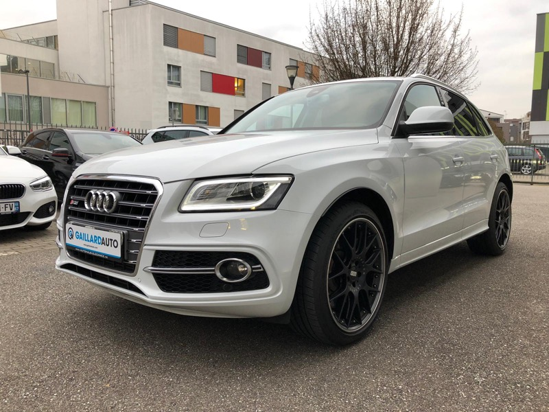 Audi SQ5 occasion Allemagne Gaillard Auto