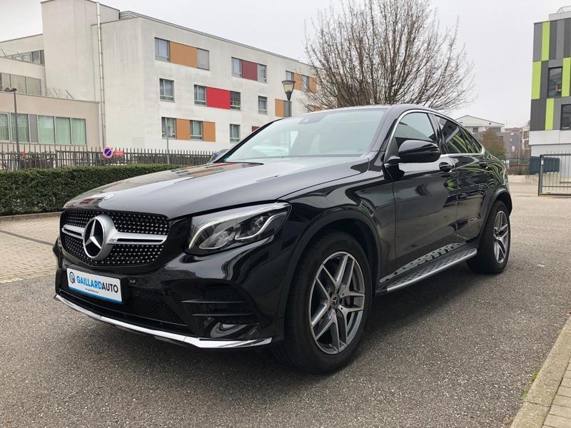 Mercedes GLC Coupé vendu par le courtier Gaillard Auto