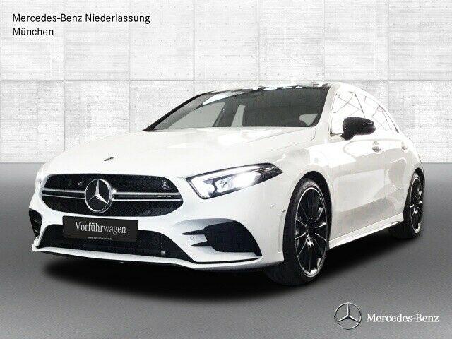 Une Mercedes A35 AMG importée d'Allemagne par Gaillard Auto