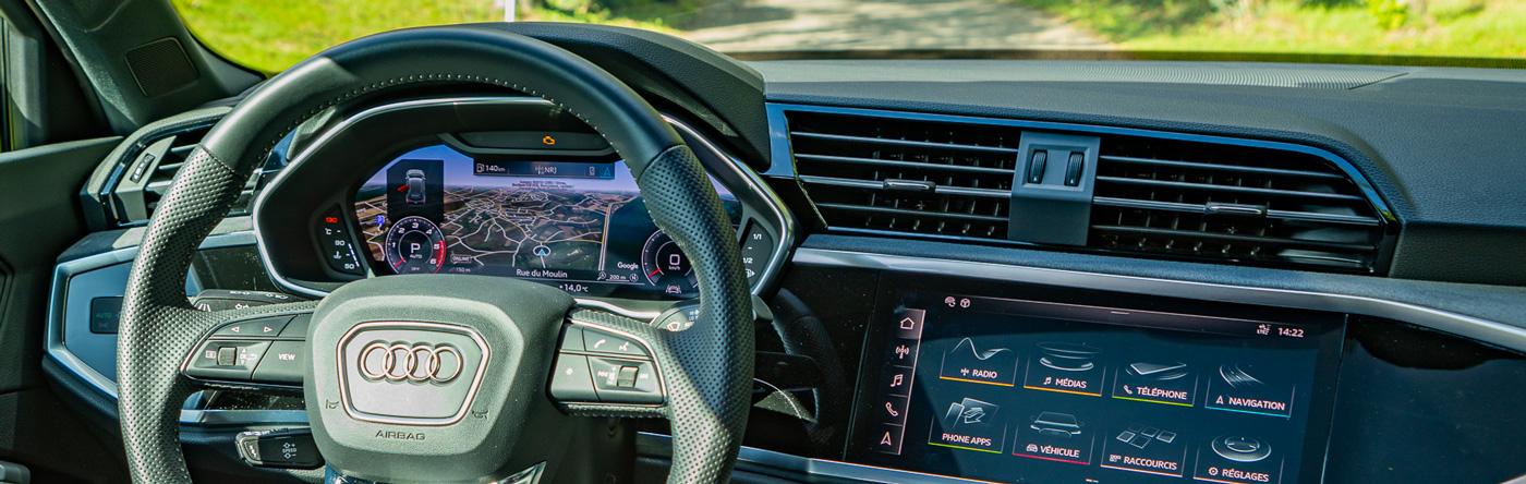 Audi Q3 importée par le mandataire Gaillard Auto