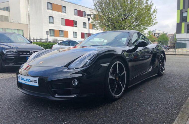 Porsche Cayman occasion Allemagne importé par Gaillard Auto
