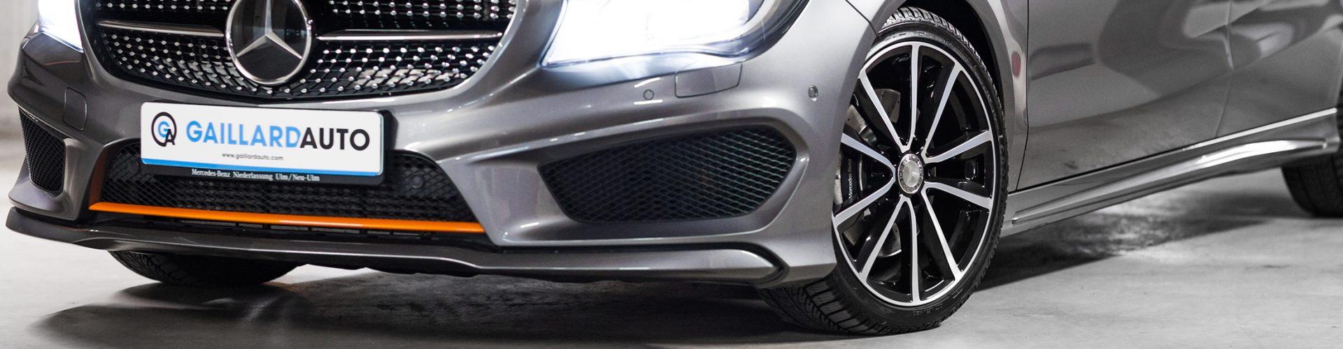 Mercedes occasion Allemagne importée par le mandataire Gaillard Auto