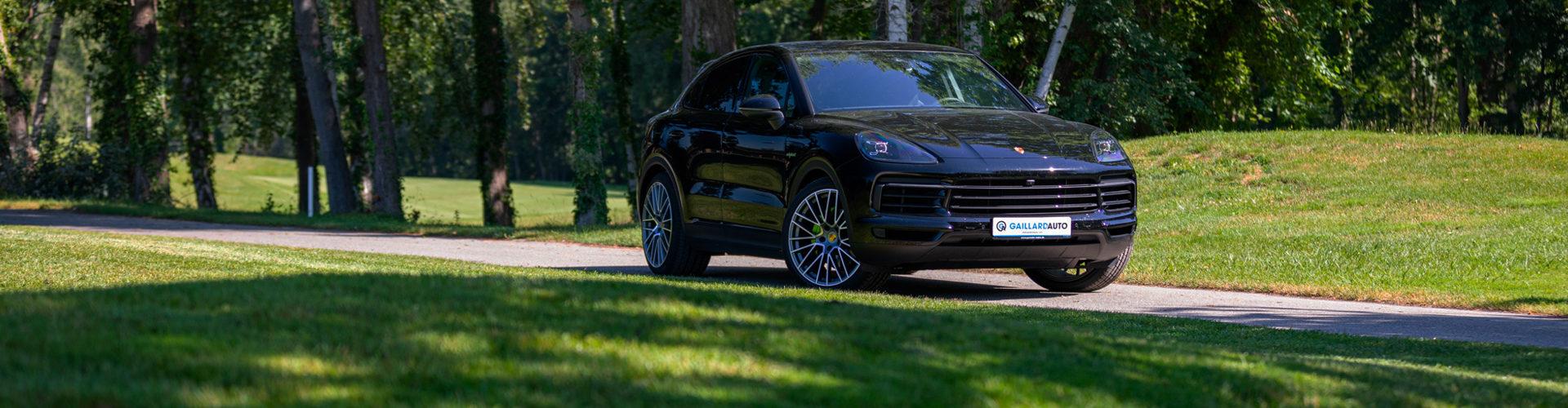 Import auto Allemagne par Gaillard Auto pour ce Porsche Cayenne Hybride