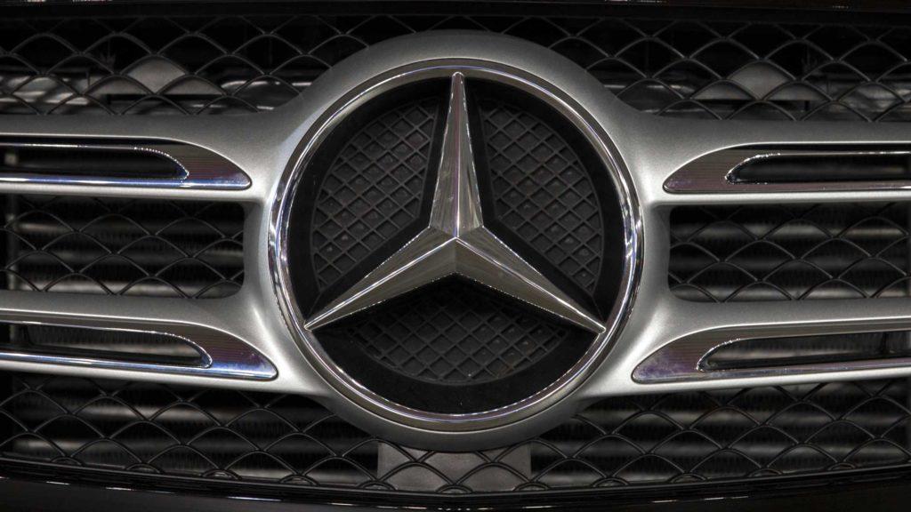 Emblème Mercedes